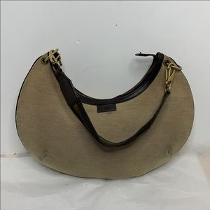 Gucci Sherry Line Tan/brown Strap Leather